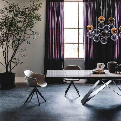 Table Grange Medaillon L Habitation Mobilier Design