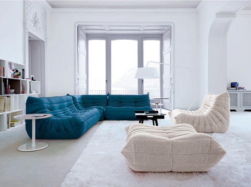 canapé ligne roset togo – mobilier design et contemporain