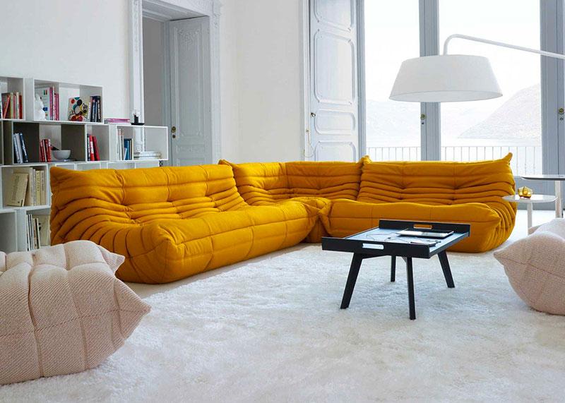 canap ligne roset togo mobilier design et contemporain. Black Bedroom Furniture Sets. Home Design Ideas